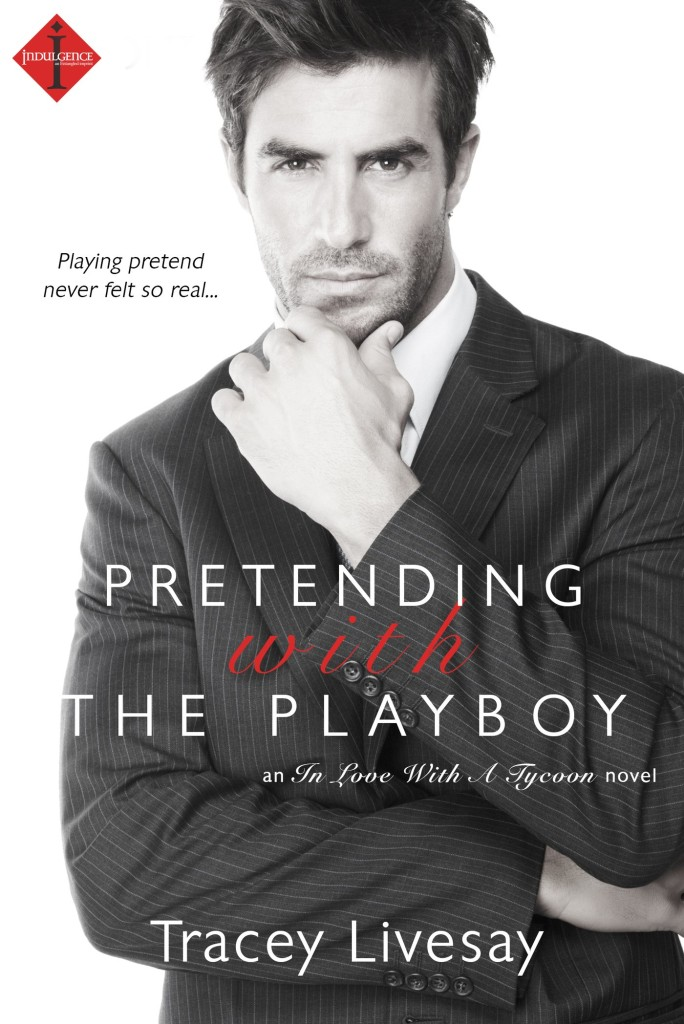 Cover Art for PRETENDING WITH THE PLAYBOY by Tracey Livesay
