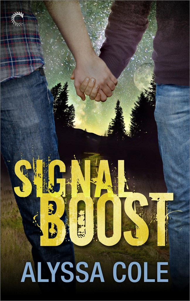 Cover Art for SIGNAL BOOST by Alyssa Cole