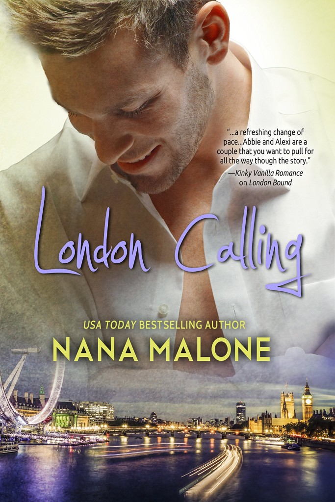 Cover Art for LONDON CALLING by Nana Malone