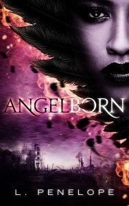 Cover Art for ANGELBORN by L. Penelope