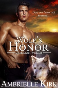 Cover Art for WOLF'S HONOR by Ambrielle Kirk