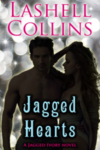 Cover Art for Jagged Hearts by Lashell Collins