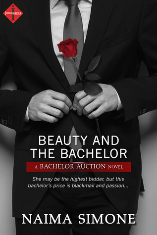 Cover Art for BEAUTY AND THE BACHELOR by Naima Simone