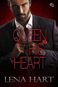 Cover Art for Queen of His Heart by Lena Hart