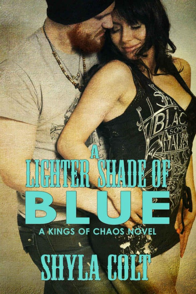 Cover Art for A LIGHTER SHADE OF BLUE by Shyla Colt