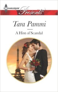 Cover Art for A HINT OF SCANDAL by Tara Pammi