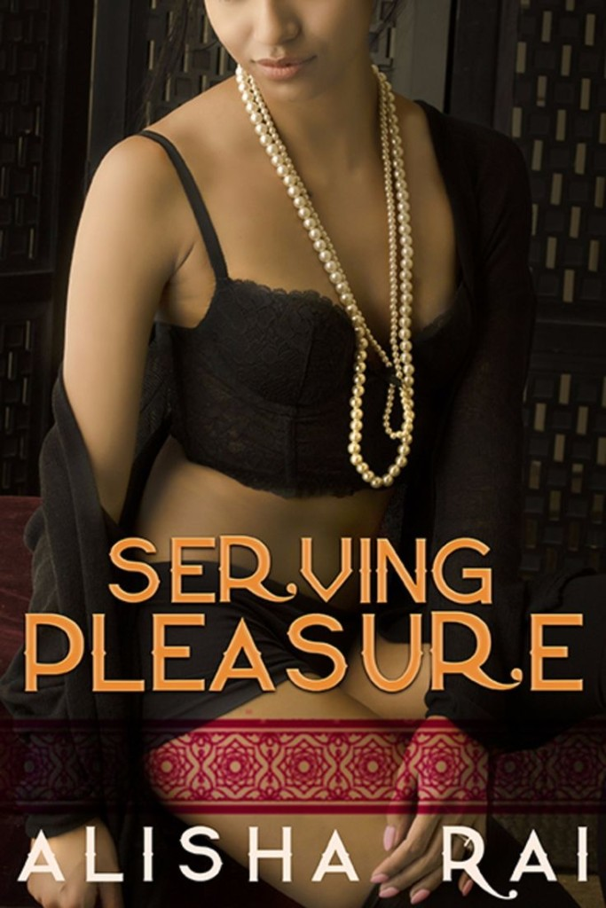 Cover Art for SERVING PLEASURE by Alisha Rai
