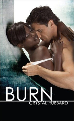 Cover Art for BURN by Crystal Hubbard