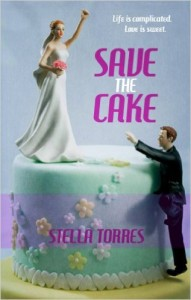 Cover Art for SAVE THE CAKE by Stella Torres