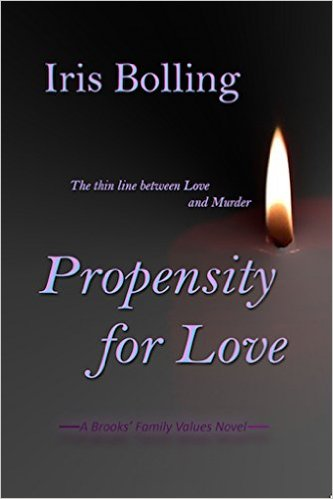 Cover Art for PROPENSITY FOR LOVE by Iris Bolling