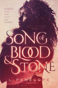 Cover Art for SONG OF BLOOD & STONE by L. Penelope
