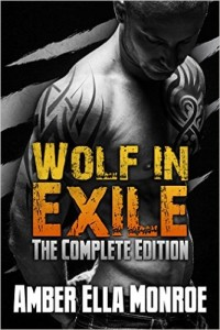 Cover Art for WOLF IN EXILE by Amber Ella Monroe