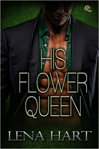 Cover Art for HIS FLOWER QUEEN by Lena Hart