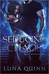 Cover Art for SEDUCING CHAOS by Luna Quinn