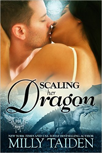 Cover Art for SCALING HER DRAGON by Milly Taiden