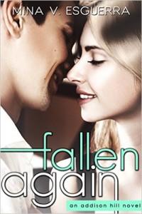 Cover Art for FALLEN AGAIN by Mina Esguerra