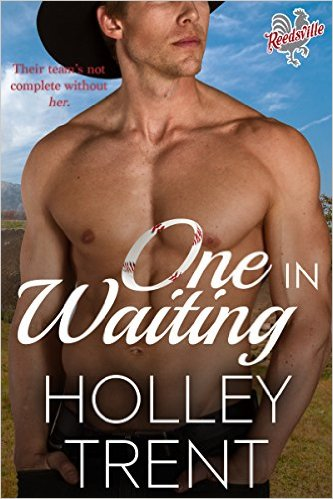 Cover Art for ONE IN WAITING by Holley Trent