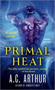 Cover Art for PRIMAL HEAT by AC Arthur