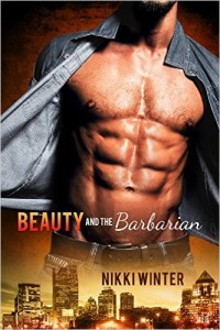 Cover Art for BEAUTY AND BARBARIAN by Nikki Winter