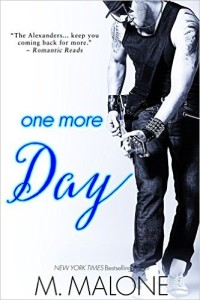 Cover Art for ONE MORE DAY by M. Malone