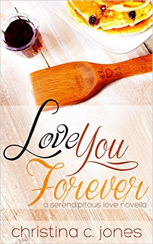 Cover Art for LOVE YOU FOREVER by Christina C. Jones