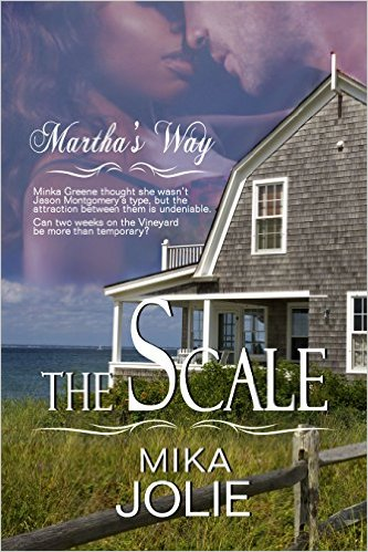 Cover Art for THE SCALE by Mika Jolie