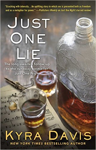 Cover Art for JUST ONE LIE by Kyra Davis