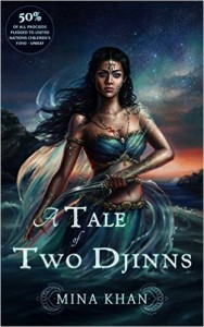 Cover Art for A TALE OF TWO DJINNS by Mina Khan