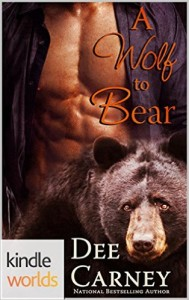 Cover Art for WOLF TO BEAR by Dee Carney
