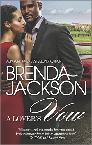 Cover Art for A LOVER'S VOW by Brenda Jackson