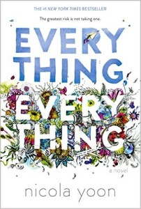 Cover Art for EVERYTHING EVERYTHING by Nicola Yoon