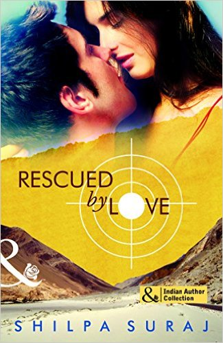Cover Art for RESCUED BY LOVE by Shilpa Suraj