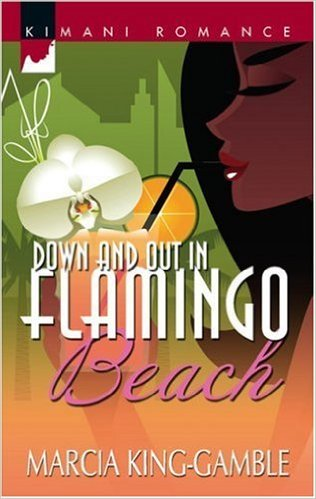Cover Art for DOWN AND OUT IN FLAMINGO BEACH by Marcia King-Gamble