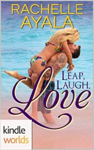Cover Art for LEAP, LAUGH, LOVE by Rachelle Ayala