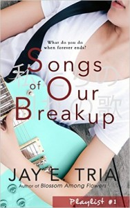 Cover Art for SONGS OF OUR BREAKUP by Jay E. Tria