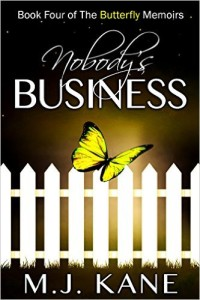 Cover Art for NOBODY'S BUSINESS by MJ Kane