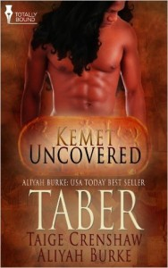 Cover Art for TABER by Taige Crenshaw
