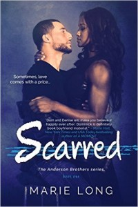 Cover Art for SCARRED by Marie Long