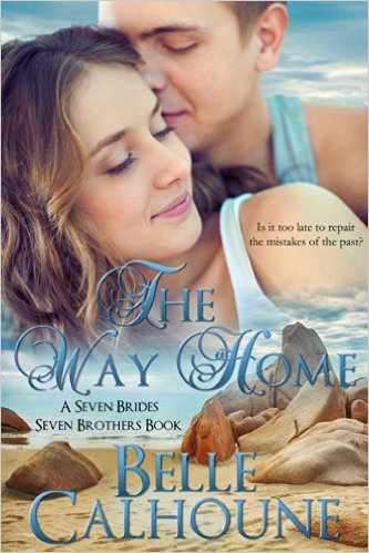 Cover Art for THE WAY HOME by Belle Calhoune