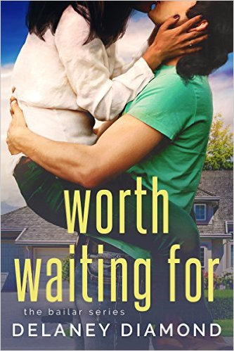 Cover Art for WORTH WAITING FOR by Delaney Diamond