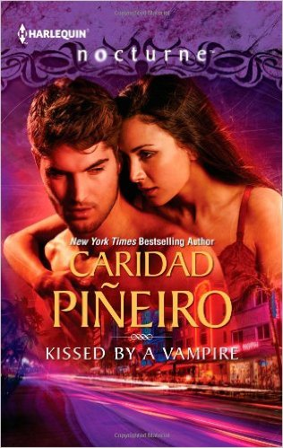 Cover Art for KISSED BY A VAMPIRE by Caridad Piñeiro