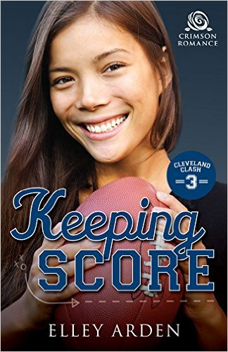 Cover Art for KEEPING SCORE by Elley Arden