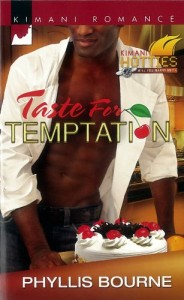 Cover Art for TASTE FOR TEMPTATION by Phyllis Bourne