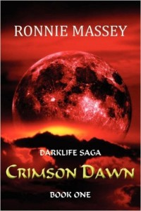 Cover Art for CRIMSON DAWN by Ronnie Massey