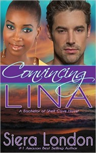 Cover Art for CONVINCING LINA by Siera London