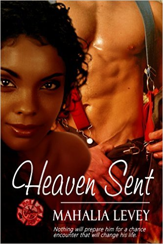 Cover Art for HEAVEN SENT by Mahalia Levey