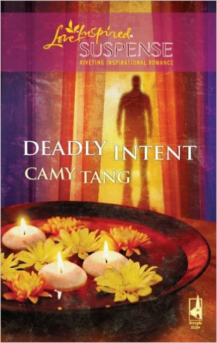 Cover Art for DEADLY INTENT by Camy Tang
