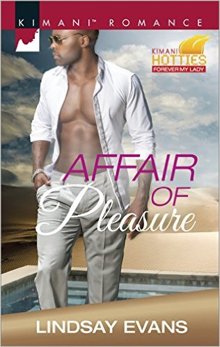 Cover Art for AFFAIR OF PLEASURE by Lindsay Evans