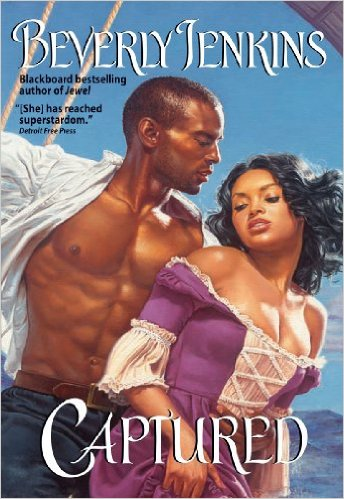 Cover Art for CAPTURED by Beverly Jenkins