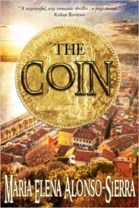 Cover Art for THE COIN by Maria Alonso-Sierra